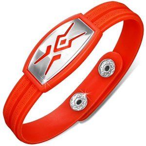 Tribal - Rött Armband