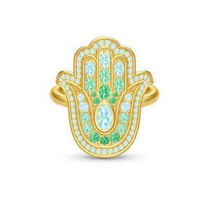 Hamsa Protection Ring