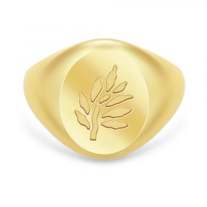 Tree of Life Signet Ring