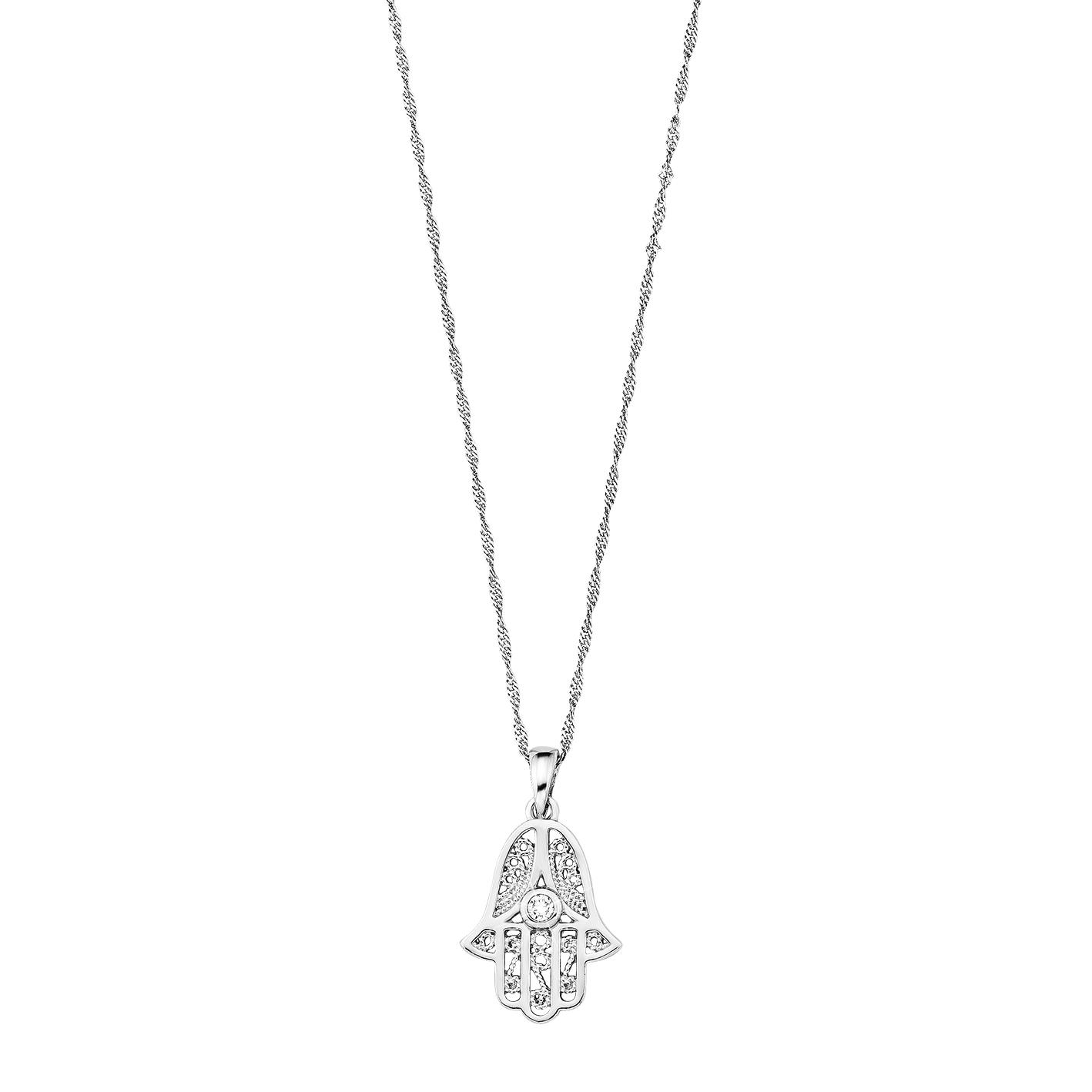 fatimas hand smycke silver
